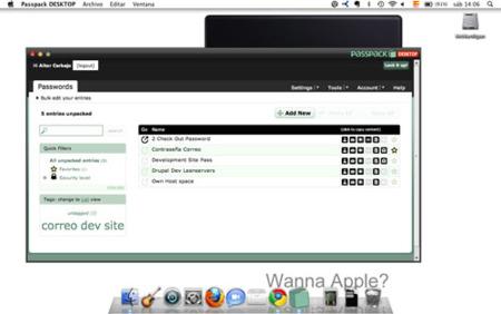 Passpack Desktop, gestiona tus contraseñas desde tu Mac