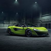 McLaren 600 LT Spider: un convertible de 592 hp y 0 a 96 km/h en 2.8 segundos