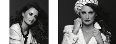 Penélope Cruz posa así de divina para el objetivo de Karl Lagerfeld en la campaña Crucero 2018/2019 de Chanel