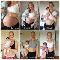 Cuerpos reales: una madre enseña cómo ha quedado su cuerpo tras dar a luz