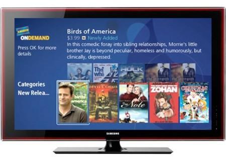 Samsung lleva el servicio Blockbuster a sus televisores