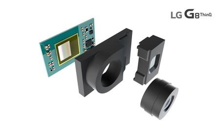 Sensor 3D ToF que estará incluido en la cámara frontal del G8 ThinQ