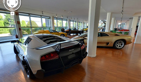 Visita el Museo Lamborghini con Google Maps