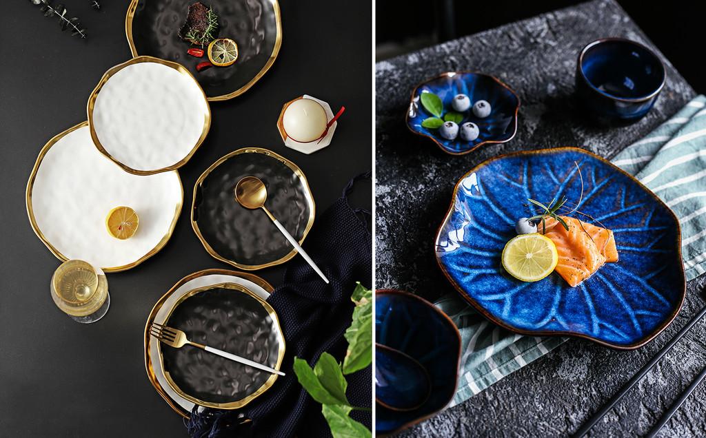 Vajillas de lujo a buen precio en Aliexpress: tan bonitos que podrían estar en el restaurante de Dani García o Dabiz Muñoz