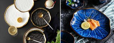 Vajillas de lujo a buen precio en Aliexpress: tan bonitas que podrían estar en el restaurante de Dani García o Dabiz Muñoz