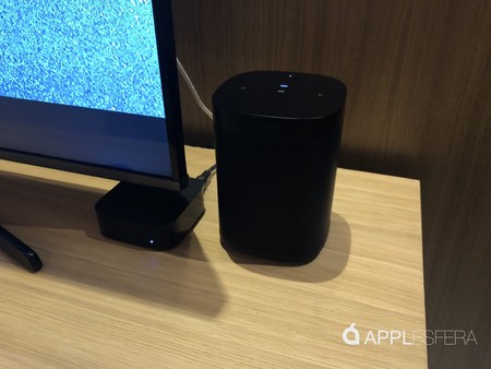 Sonos One en Apple TV 4