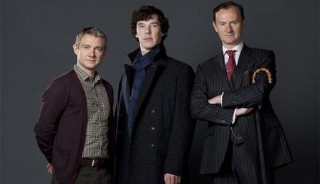 'Sherlock' y 'Appropiate adult', favoritas para los premios BAFTA 2012