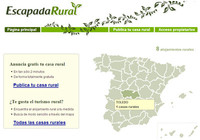 EscapadaRural, para anunciar y encontrar casas rurales