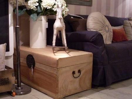 Bien guardado en pocos metros, mobiliario con doble función