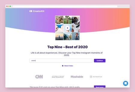 Top Nine Instagram 2020, cómo crear y compartir el montaje de tus fotografías más populares del año
