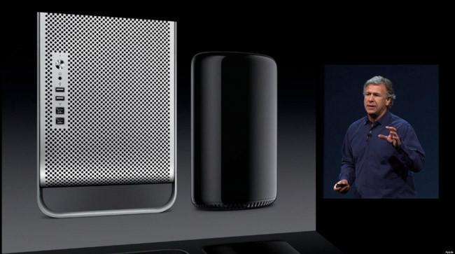 Comparación entre el nuevo y el viejo Mac Pro