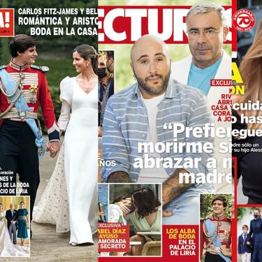 Kiko Rivera y la Panto-batalla con su madre, la boda de Carlos Fitz-James Stuart y Belén Corsini y el nuevo mazazo para Ana Obregón: estas son las portadas del miércoles 26 de mayo
