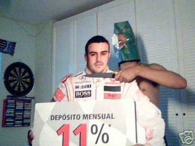 Secuestrando a Fernando Alonso
