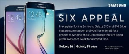 Samsung Galaxy S6 y S6 Edge, ahora en material promocional