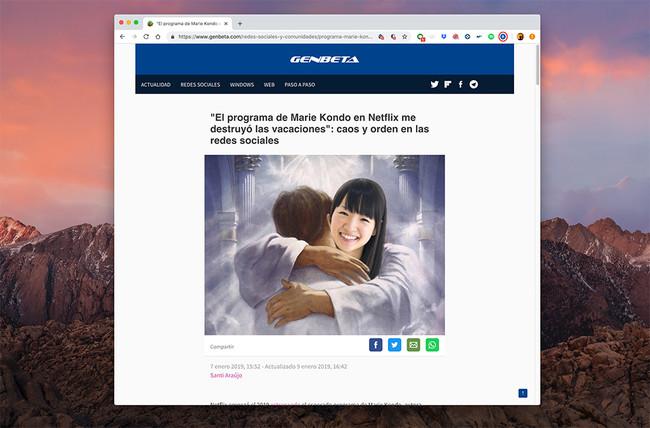 Carga webs AMP en escritorio con esta extensión de Chrome y Firefox, ideal para conexiones lentas y equipos viejos