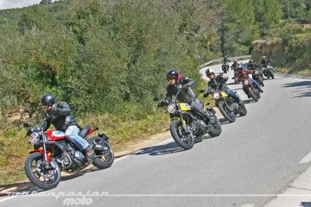 Ducati Scrambler Presentacion Prensa Accion
