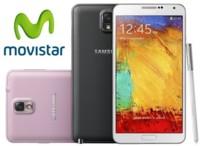 Precios Samsung Galaxy Note 3 con Movistar