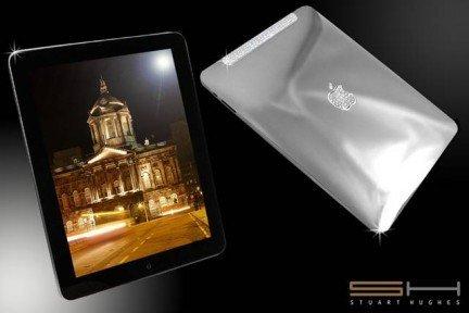 El iPad más lujoso del mundo está hecho de platino y diamantes