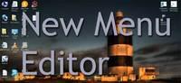 New Menu Editor, cuando queremos crear un fichero nuevo de un tipo específico