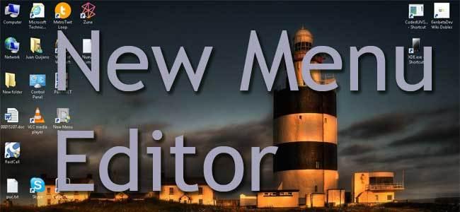 New Menu Editor portada