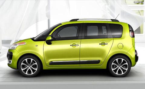 CitroënC3Picasso,precios,motoresyequipamientoenEspaña