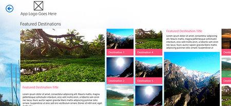 win8templates, para desarrolladores de aplicaciones Windows 8 Store App