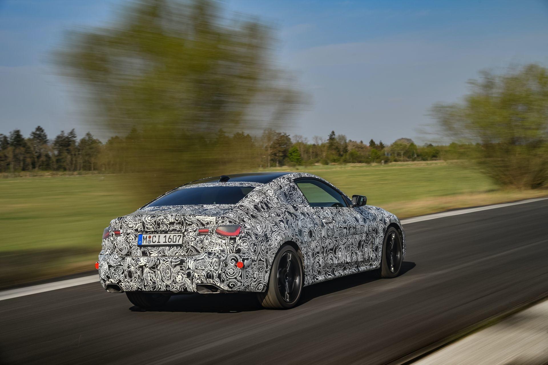 Foto de BMW Serie 4 2021 (fotos espía) (17/38)