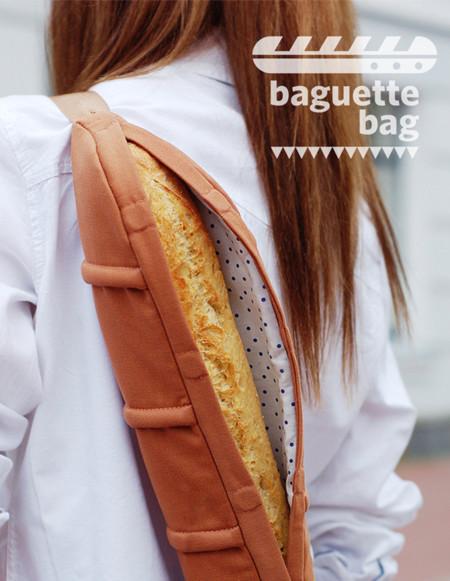 Atención amantes del pan, ¡llega la baguette bag!
