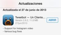 Tweetbot para iOS se actualiza y añade soporte para Instagram Video