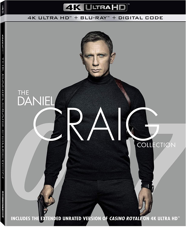 007 - The Daniel Craig Collection en Blu-ray 4K