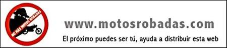 Banner no mas motos robadas