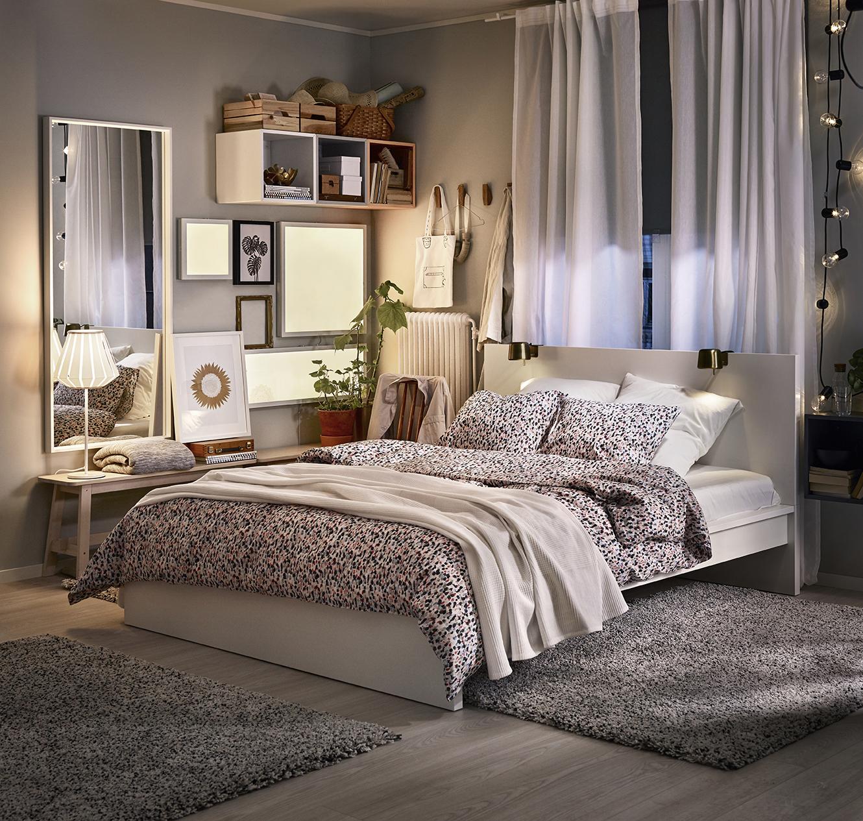 Cat logo ikea 2018 novedades para dormitorios for Decoracion minimalista fotos
