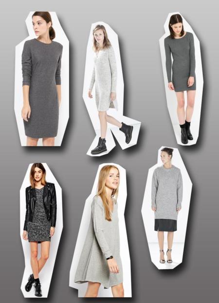 c5038fcc6 Tendencias low-cost Otoño-Invierno 2014 2015  el vestido gris de ...