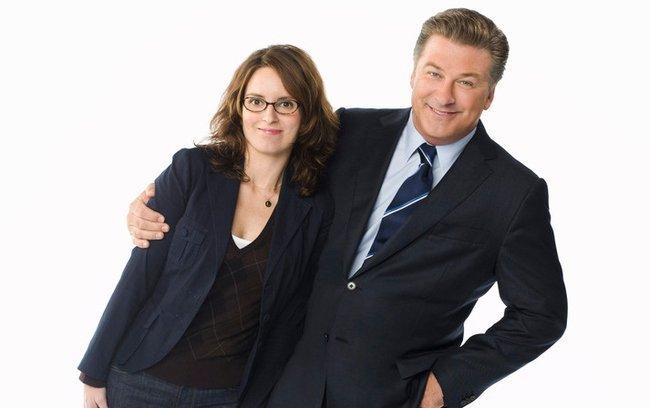 Tina Fey y Alec Baldwin