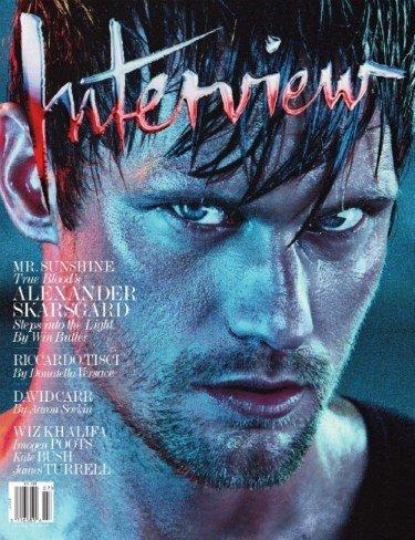 Alexander Skarsgard con cara de malote. Yo me derrito, en serio.