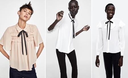 Zara Camisa Lazo