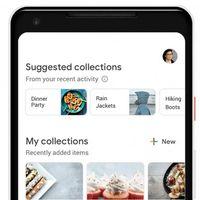 Las nuevas Colecciones de Google asocian tus búsquedas por actividades y te sugieren temas relacionados