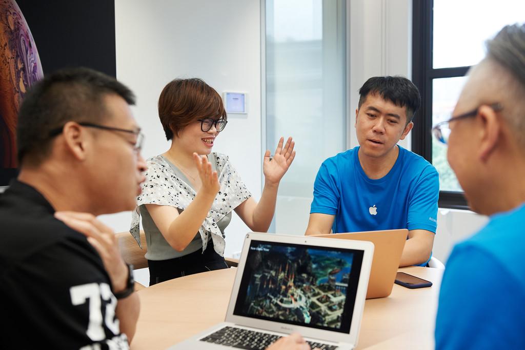 Apple abre un centro de diseño y desarrollo para apps en Shanghai