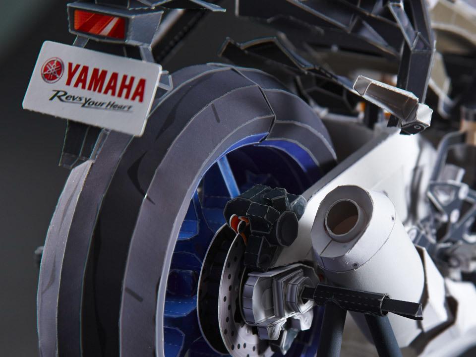 Foto de Yamaha YZF-R1 Origami (3/9)