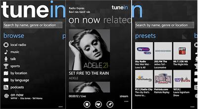 TuneIn Radio, todas las radios del mundo en tu móvil. La aplicación de la semana