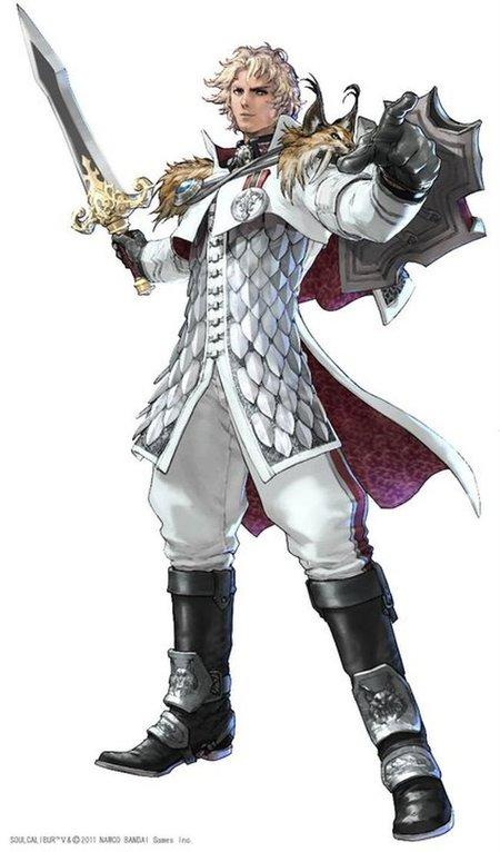 Patroclus en Soul Calibur V