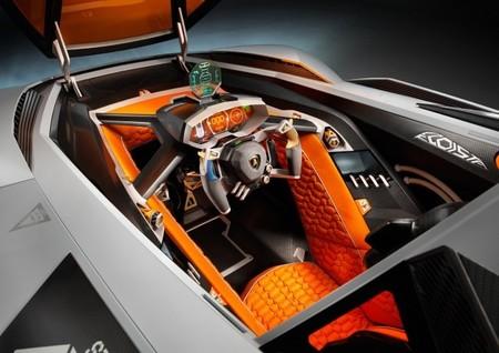 Lamborghini Egoísta interior