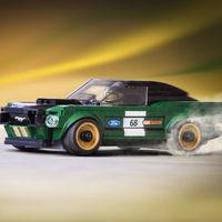 A propósito de la primera Tienda Lego en México, te presentamos este Mustang Fastback 1968