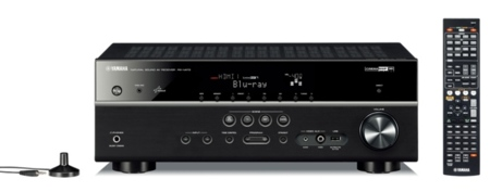 Yamaha RX-V473, con Airplay y soporte 4K