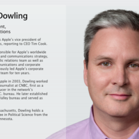 Steve Dowling, nuevo vicepresidente de comunicaciones en Apple