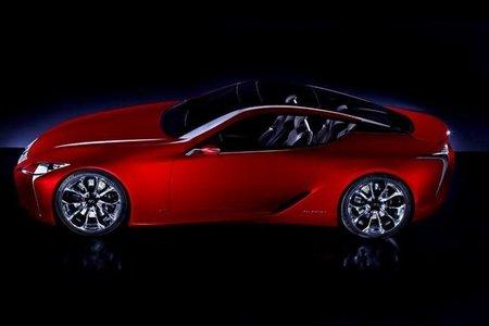 Lexus LF-LC Concept, primeras imágenes oficiales