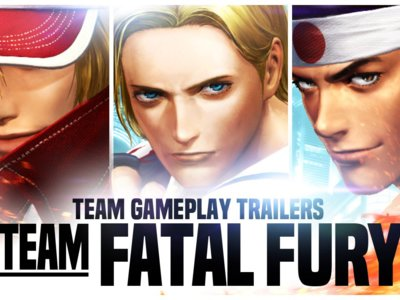 El legendario Garou Team protagoniza el nuevo tráiler de King of Fighters XIV