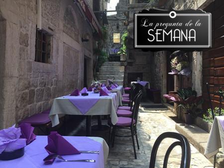 ¿Cual es vuestra ciudad favorita para hacer turismo gastronómico? La pregunta de la semana