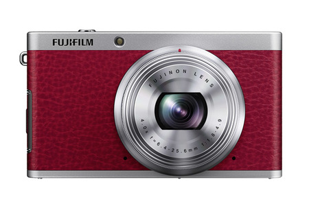 Fujifilm XF roja vista frontal