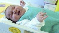 Bebé de seis kilos nace sin cesárea